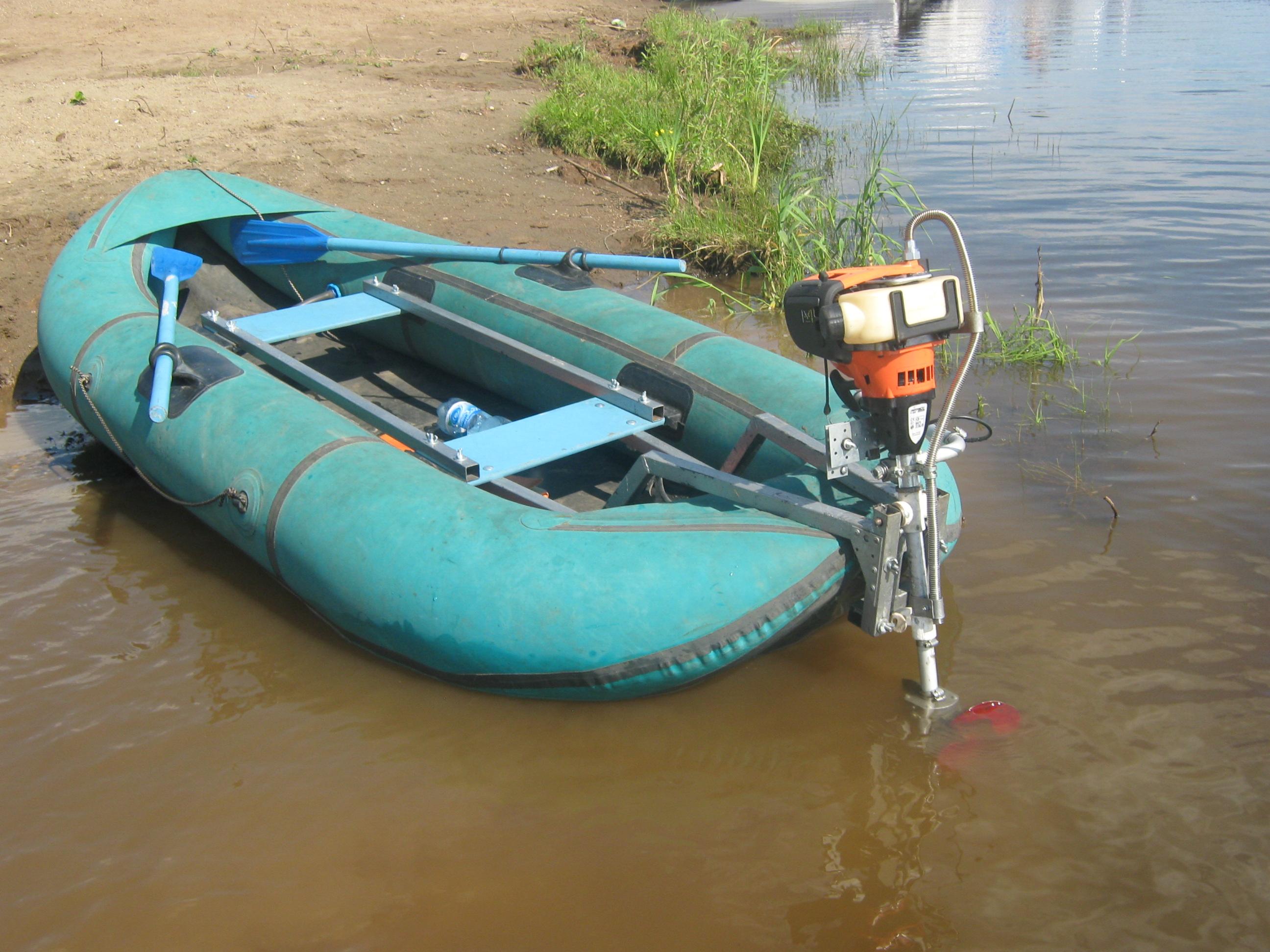 Небольшую лодку под мотор своими руками 4