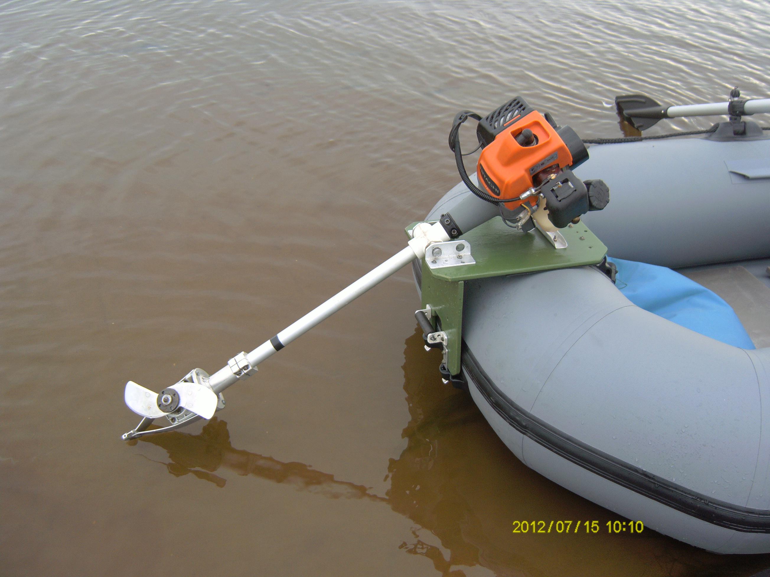 купить насадка лодочный мотор на бензокосу-триммер купить