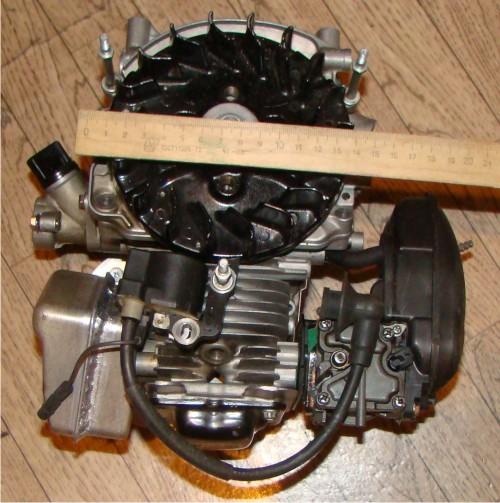 как соединить мотор бензопилы с лодочным мотором