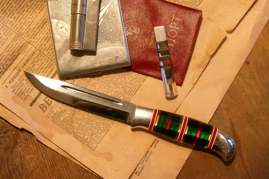 Как сделать наборную ручку на нож