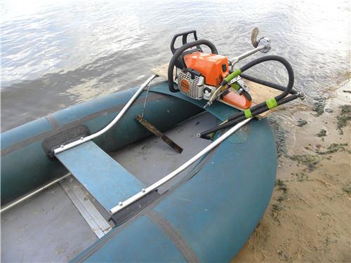 какие моторы ставят на лодки из пвх
