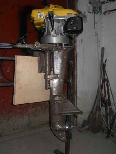 Лодочный мотор из мопеда своими руками