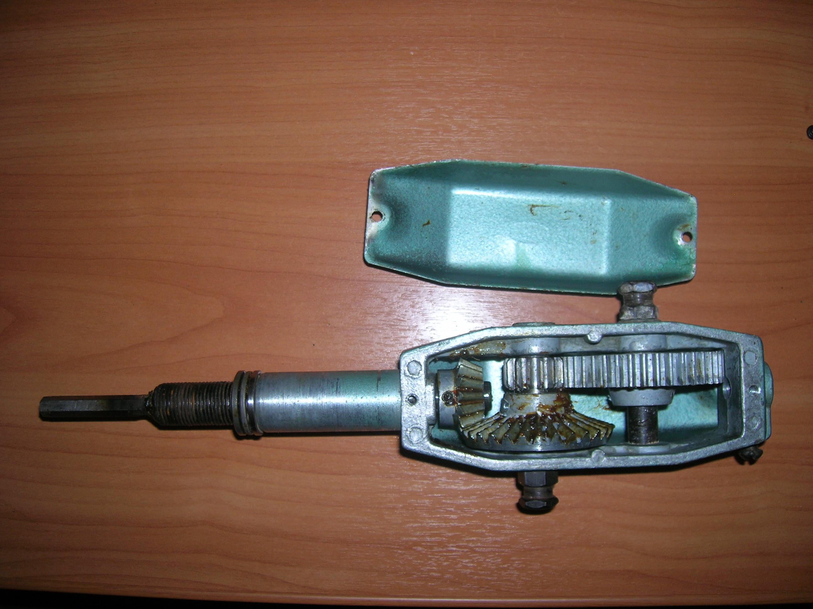 электромотор с редуктором для лодки