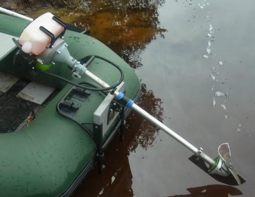 Правильная установка лодочного мотора — подбор высоты транца и угла наклона
