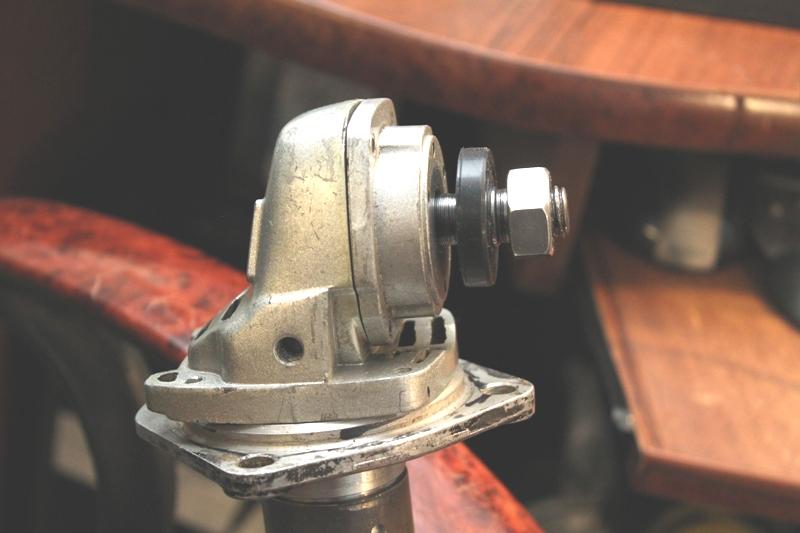 Лодочный мотор своими руками из редуктора от болгарки