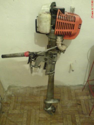 Переделка мото мотора в лодочный мотор