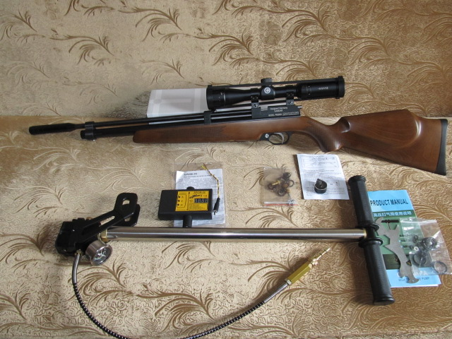 Как сделать пневматическую винтовку pcp своими руками